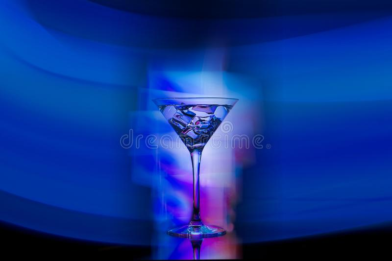 Coctail drink in the club royalty free stock photo