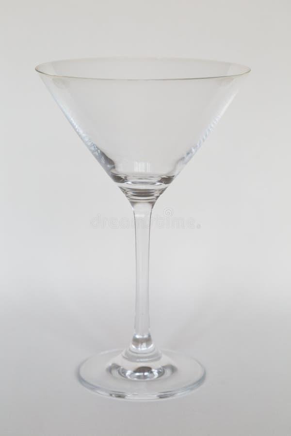 Coctailexponeringsglas som isoleras på vit fotografering för bildbyråer