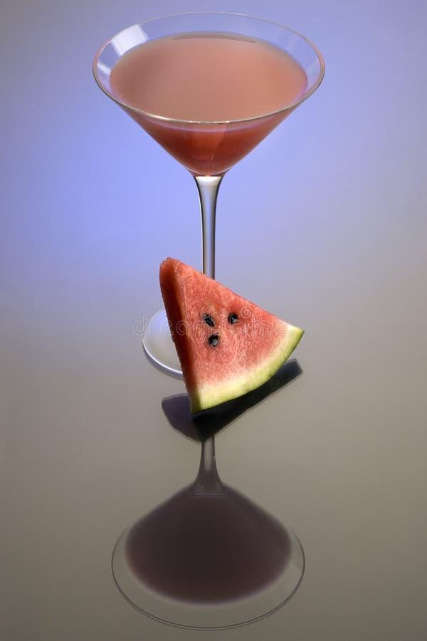 coctailmartini vattenmelon royaltyfria foton