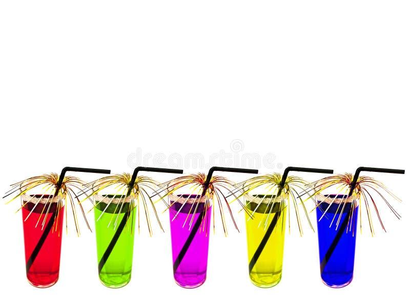 Download Coctails multicolori immagine stock. Immagine di limonata - 7302247