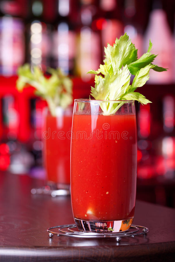 Coctailsamling - Bloody Mary royaltyfria foton