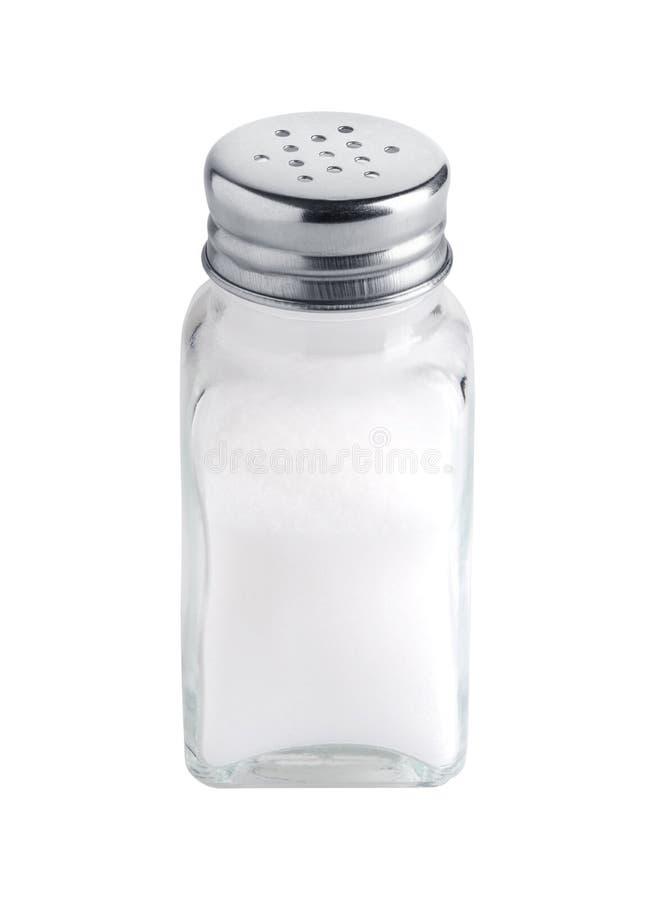Coctelera de sal imagen de archivo