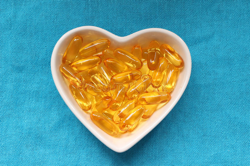 Cod liver oil royalty free stock image