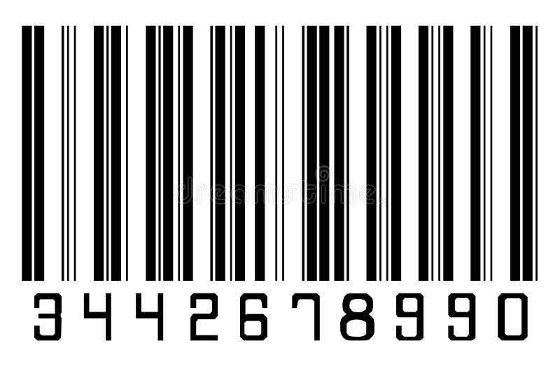 Code à barres illustration libre de droits