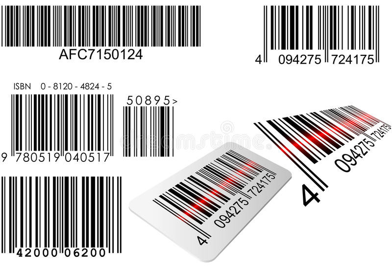 Code barres illustration stock