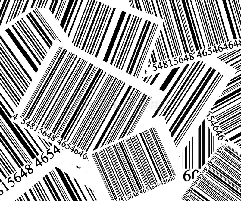 Code barres illustration de vecteur
