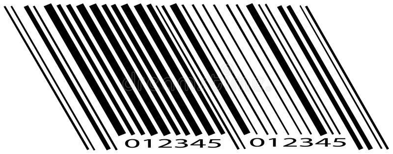 Code barres illustration libre de droits