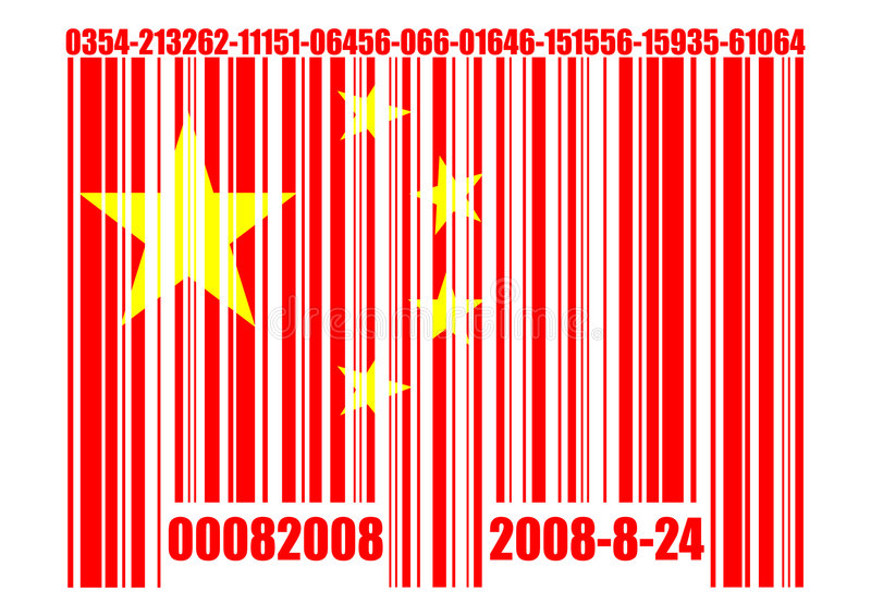 Code barres chinois conceptuel illustration de vecteur download code barres chinois conceptuel illustration de vecteur illustration du isolement patriotique 6144989 thecheapjerseys Images