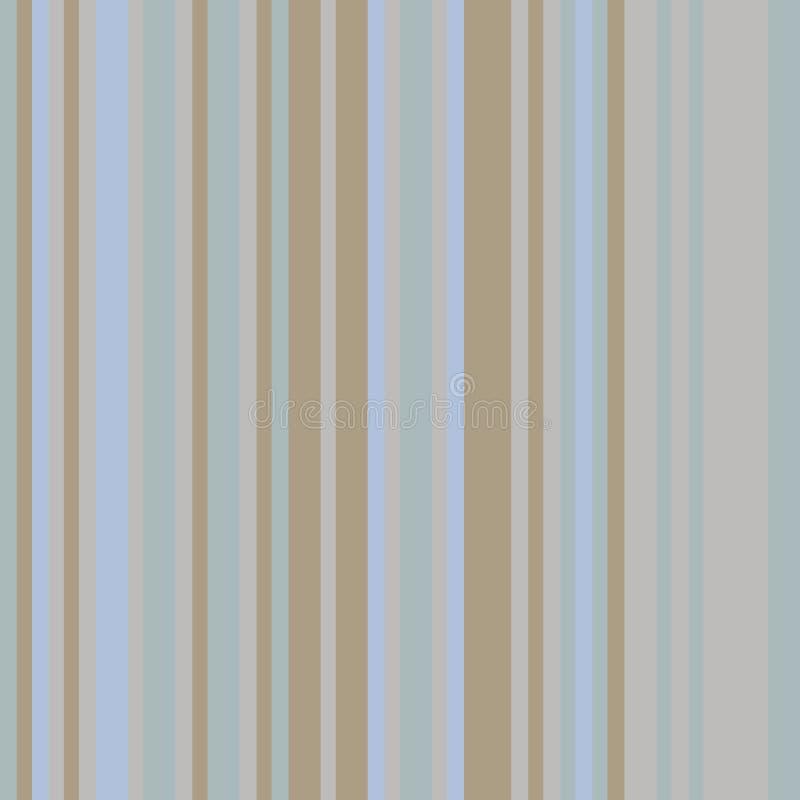 Code barres coloré Modèle avec les rayures verticales, les lignes de l'épaisseur différente et les nuances Couleur grise et brune illustration de vecteur