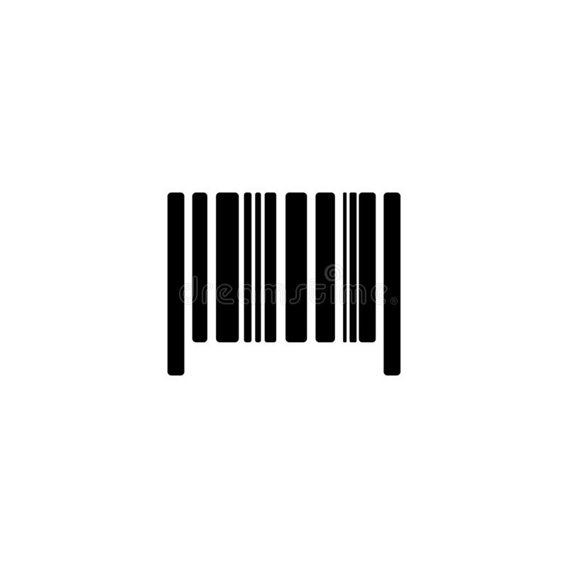 Code barres courant 3 de vecteur illustration libre de droits