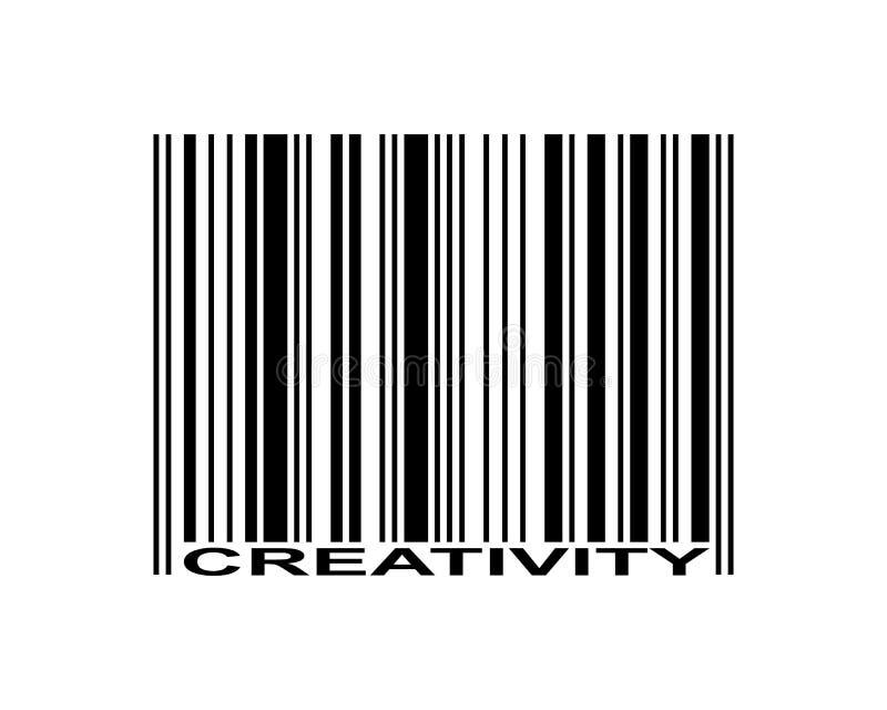 Code barres de créativité illustration libre de droits