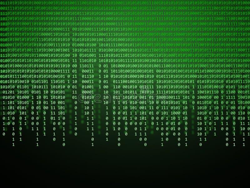 Code binaire illustration libre de droits