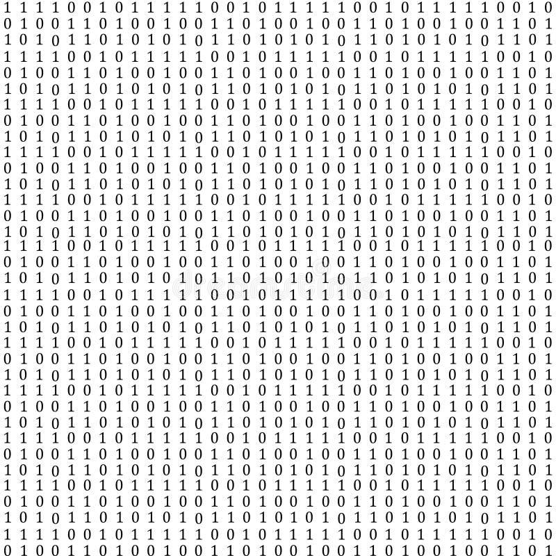 Code binaire illustration stock