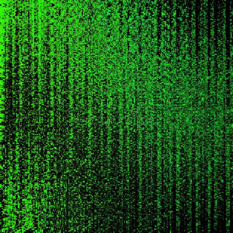 Code binaire matrice Interface d'ordinateur Illustration abstraite illustration libre de droits