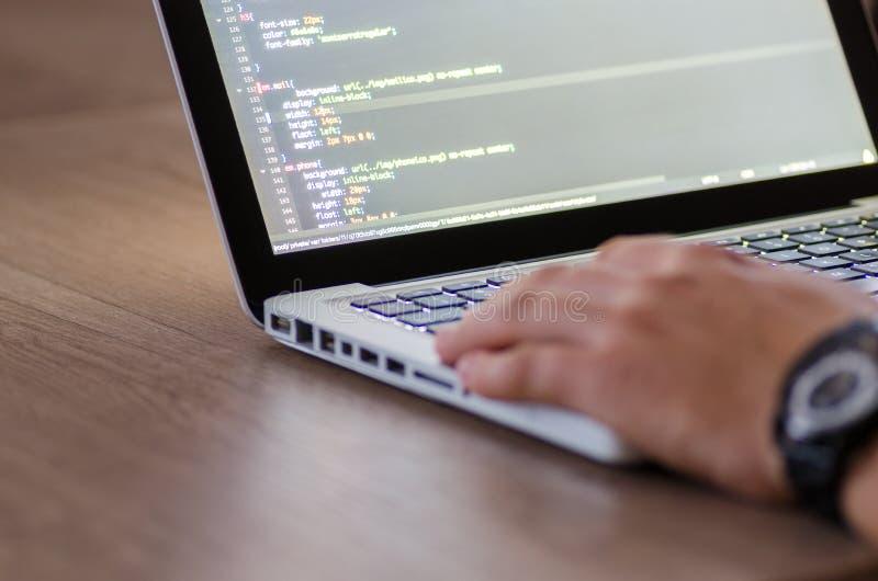 Code, Codierung, Computer stockbild