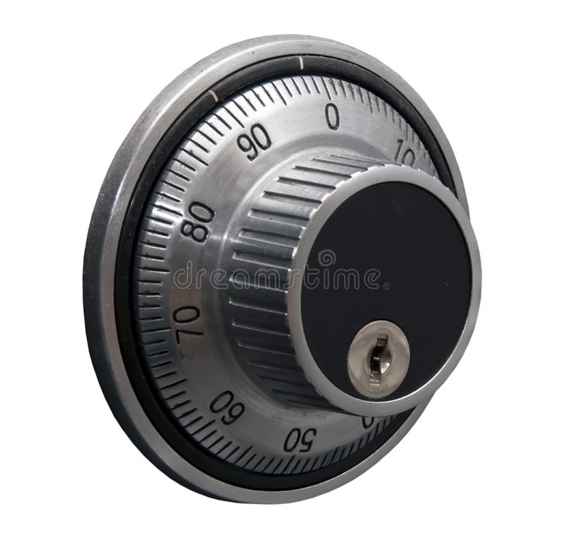 Download Code Lock Isolated Over White Stock Image - Image: 17968611
