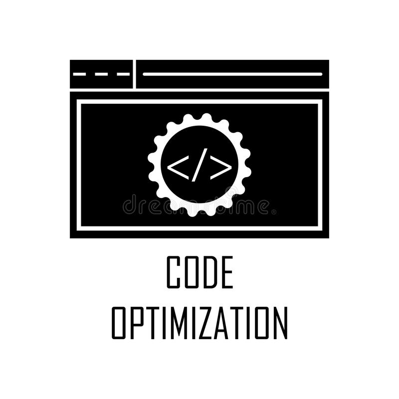 Code optimization icon. Element of Web Development for mobile concept and web apps. Detailed code optimization icon can be used fo. R web and mobile. Premium royalty free illustration