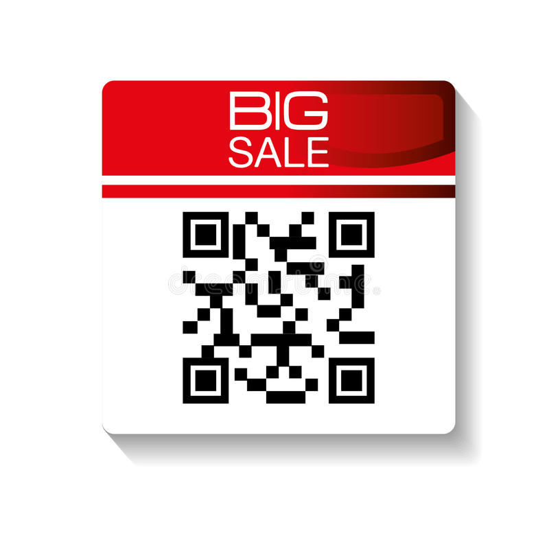 Code qr design. Illustration eps10 graphic stock illustration