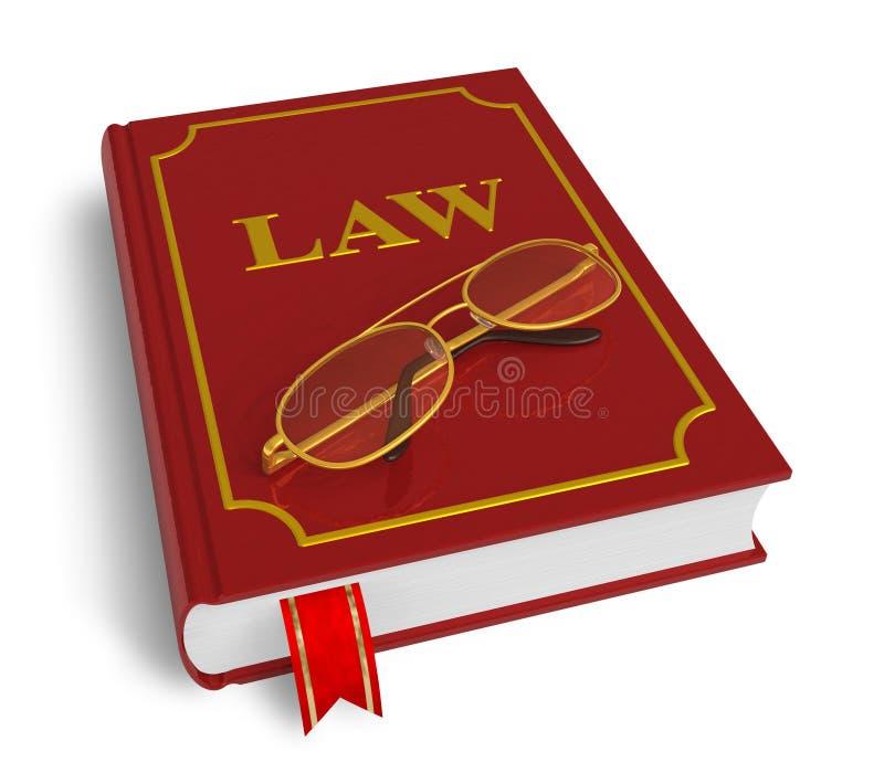 Code van wetten vector illustratie