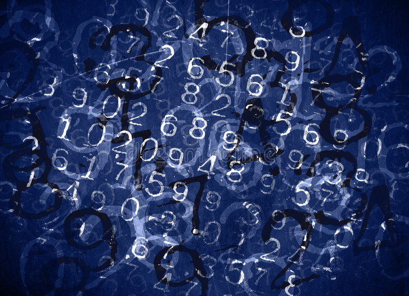 Download Coded Numbers stock image. Image of crime, color, grunge - 835651