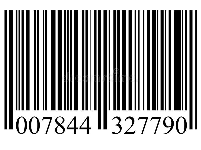 Codice a barre royalty illustrazione gratis