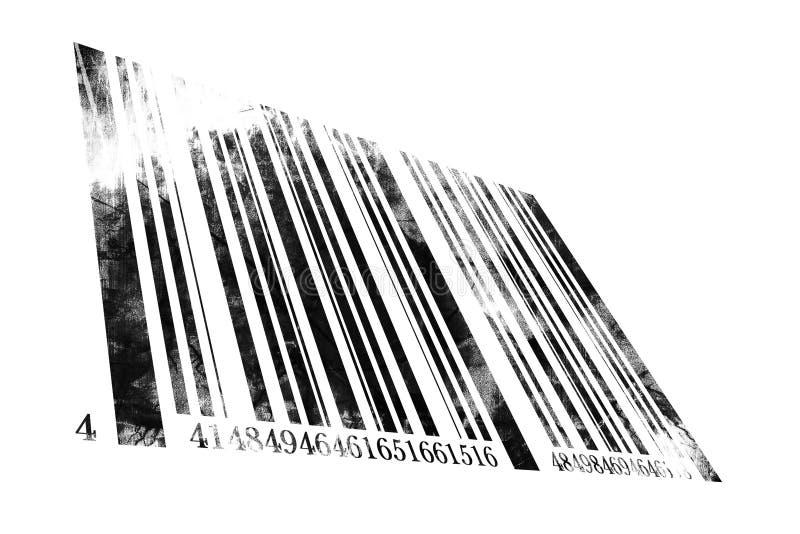 Codice a barre illustrazione vettoriale