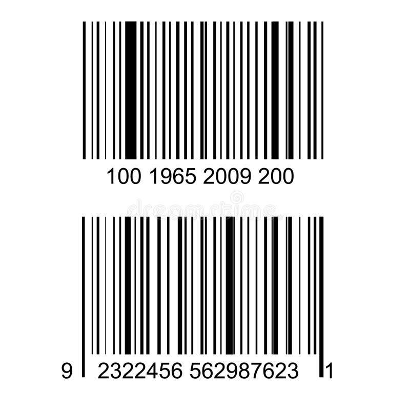 Codice a barre illustrazione di stock