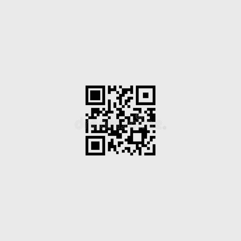 Codice a barre Antivari, codice, buono Illustrazione di vettore Priorità bassa bianca ENV 10 illustrazione di stock