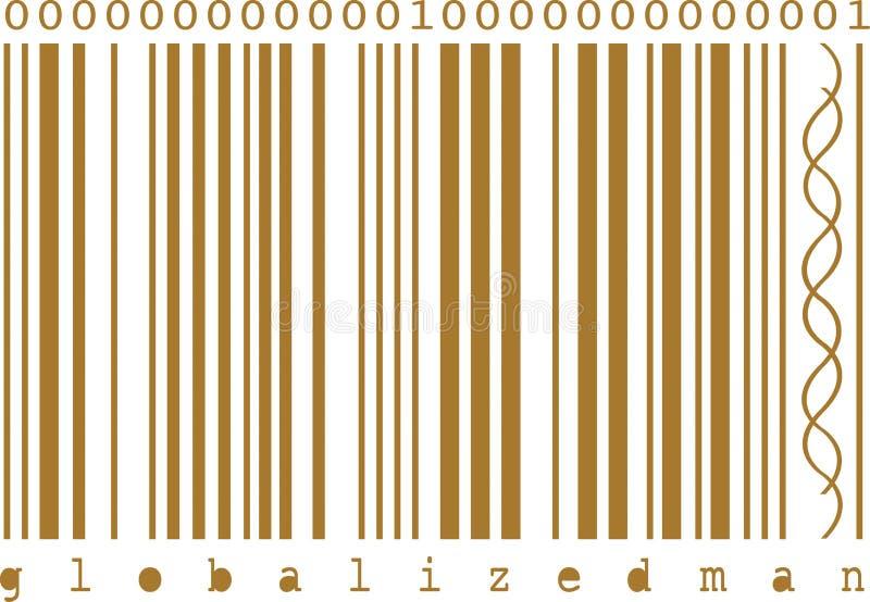 Codice a barre di concetto illustrazione vettoriale