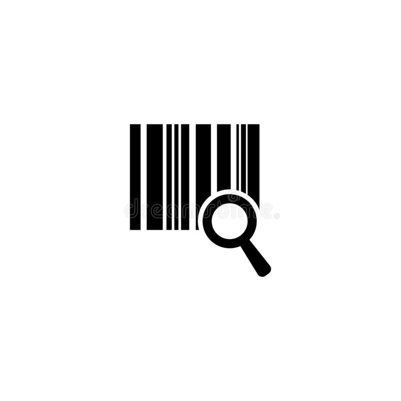 Codice a barre di riserva 9 di vettore illustrazione di stock