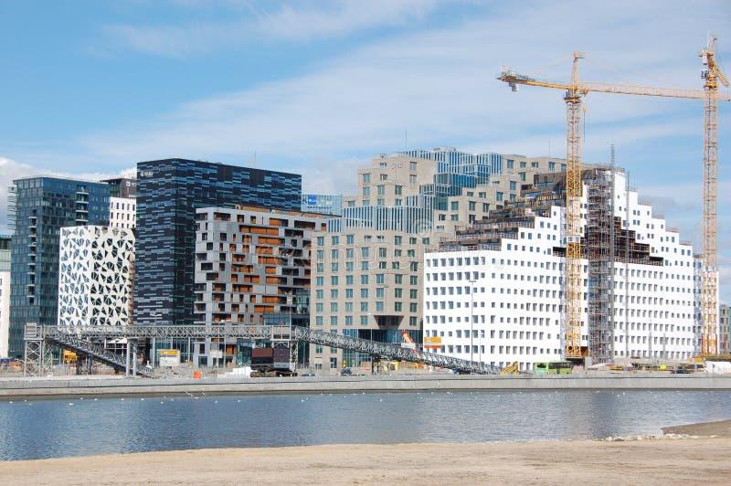 Codice a barre Oslo fotografie stock libere da diritti