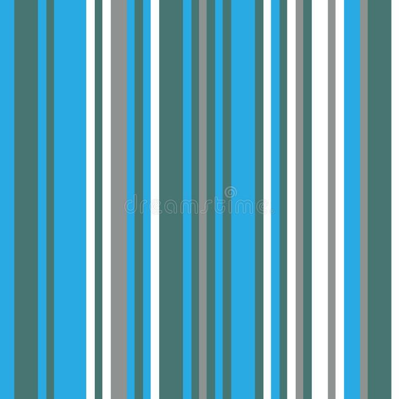Codice a barre variopinto Modello con le bande verticali, le linee di spessore differente e le tonalità colore blu e verde royalty illustrazione gratis