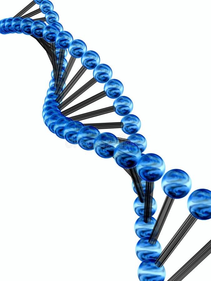 codice genetico 3d royalty illustrazione gratis