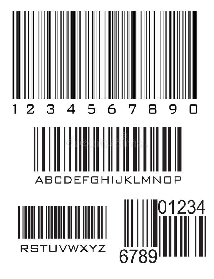 Codici a barre illustrazione di stock