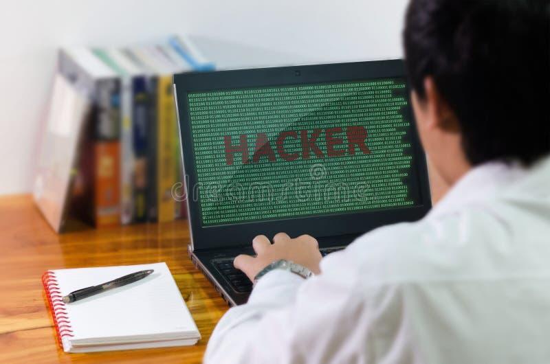 Codificação do programador no computador foto de stock royalty free