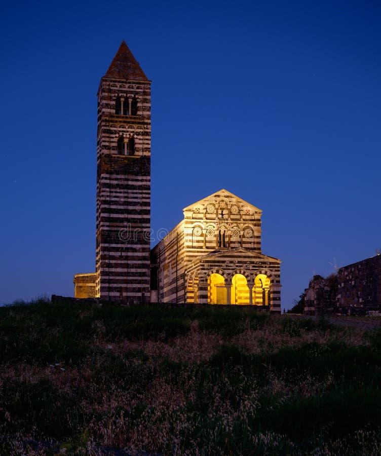 Free Codrongianos, Sardinia, Italy, Europe, Basilica Of The Holy Trinity Of Saccargia Stock Photography - 122320242