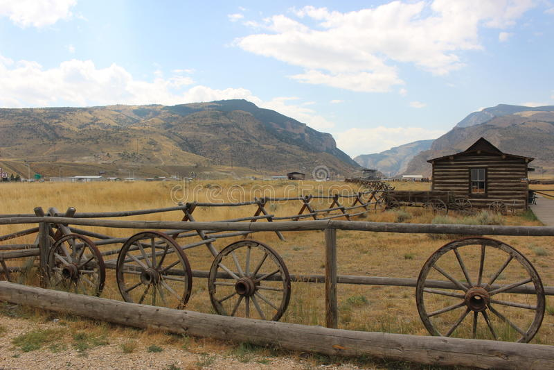 Cody - Wyoming fotografia de stock royalty free
