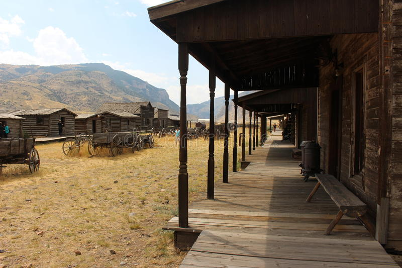 Cody - Wyoming imagens de stock royalty free