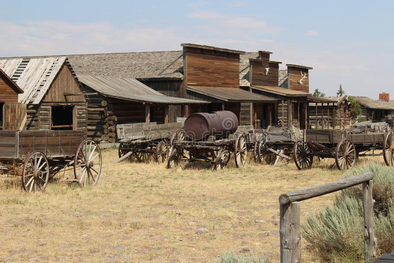 Cody - Wyoming foto de stock
