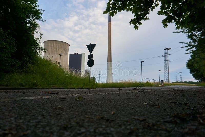 Coeal ha infornato la centrale elettrica fotografie stock