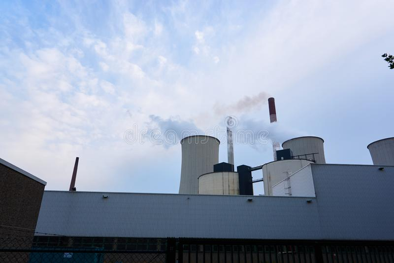 Coeal ha infornato la centrale elettrica fotografie stock libere da diritti