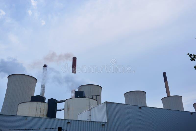 Coeal ha infornato la centrale elettrica fotografia stock libera da diritti