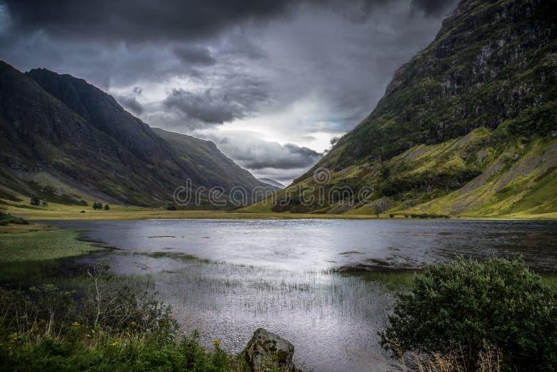 coeglen scotland arkivbilder