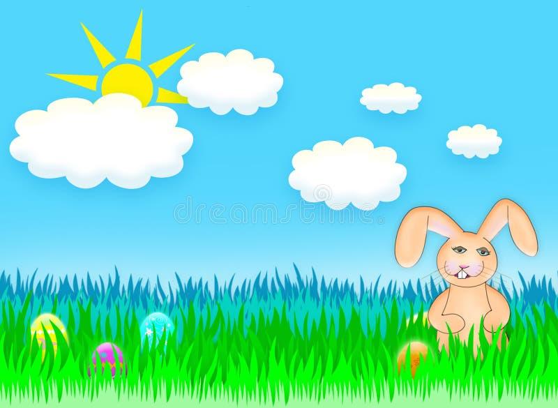 Coelhinho da Páscoa ilustração stock
