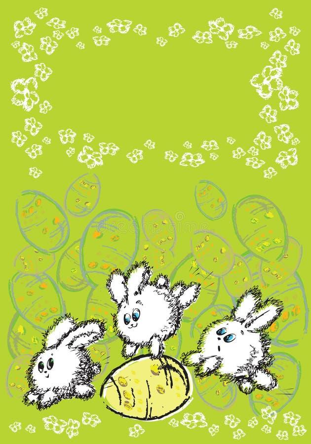 Coelho ilustração stock