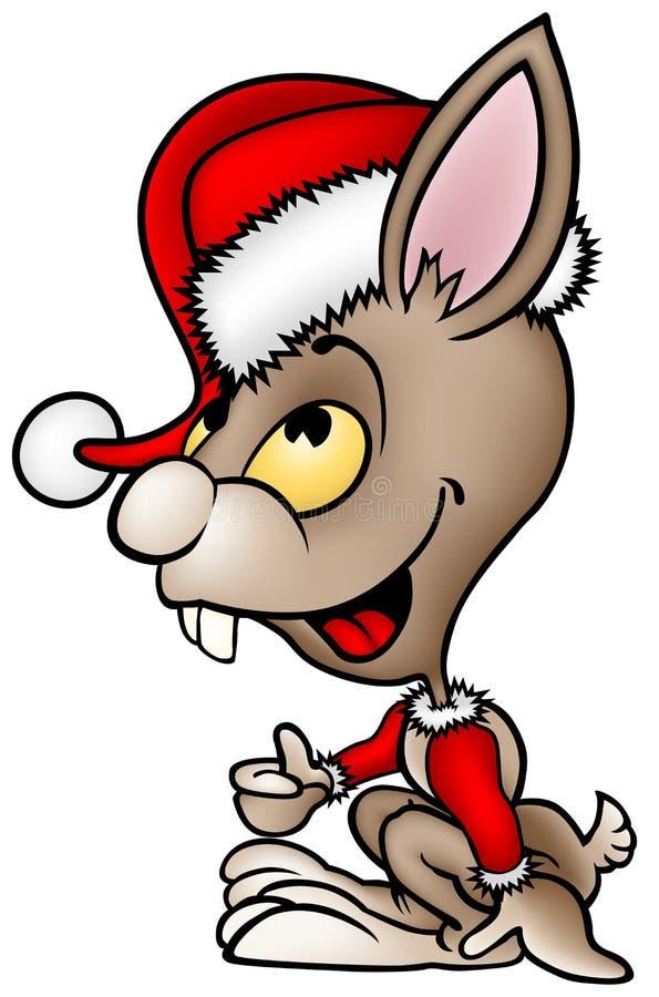 Coelho de Brown Santa