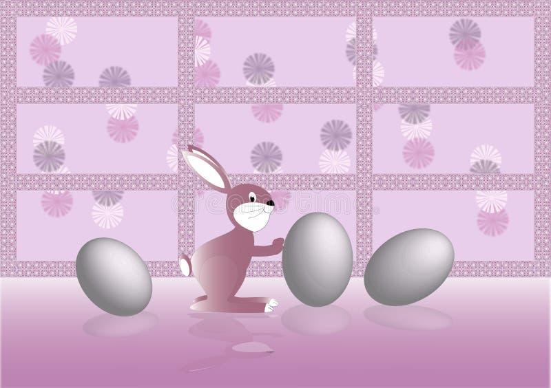 Download Coelho de Easter ilustração stock. Ilustração de hallelujah - 12801068