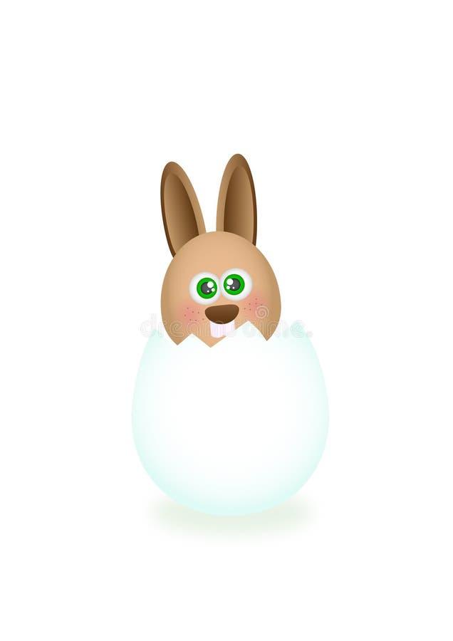 Download Coelho de Easter ilustração stock. Ilustração de gráfico - 12810326