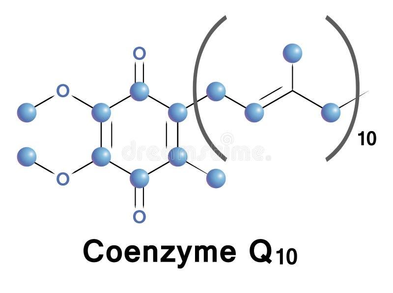 Coenzyme Q10 royalty-vrije illustratie