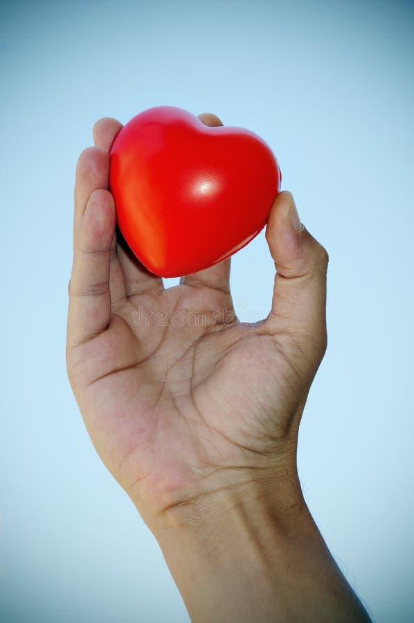 Coeur à disposition photos stock
